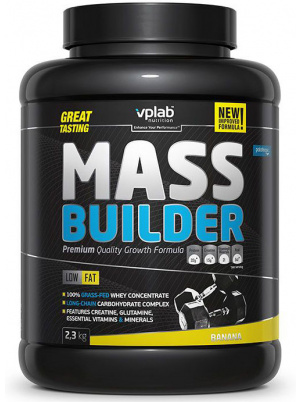 Гейнер VPLab Mass Builder 2300 г Banana