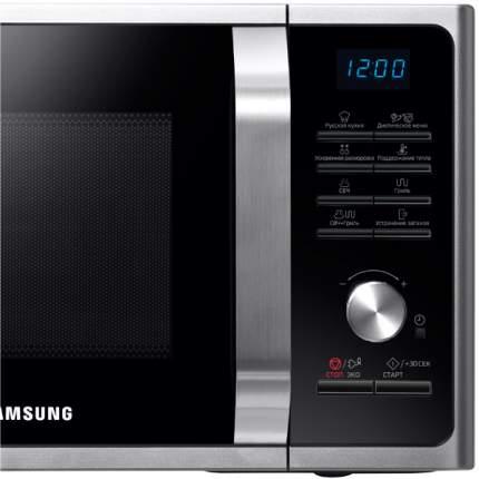 Микроволновая печь с грилем Samsung MG23F302TQS silver/black
