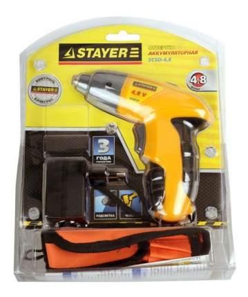 Аккумуляторная отвертка STAYER SCSD-4.8