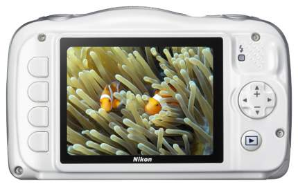 Фотоаппарат цифровой компактный Nikon Coolpix W100 White