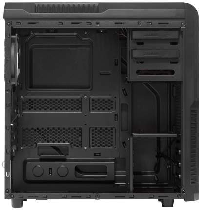 Компьютерный корпус Zalman Z3 без БП black