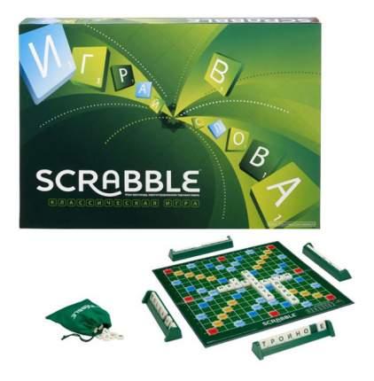 Семейная настольная игра Mattel inc Scrabble классический