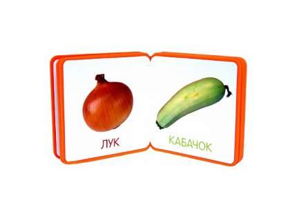Книжка плюшевая Мозаика-Синтез Овощи 43150-658-1