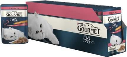 Влажный корм для кошек Gourmet Perle, лосось, 85г