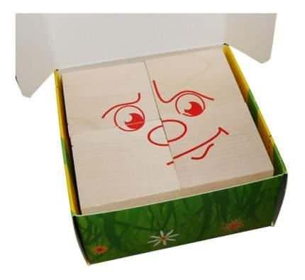 Детские кубики Краснокамская игрушка Настроения
