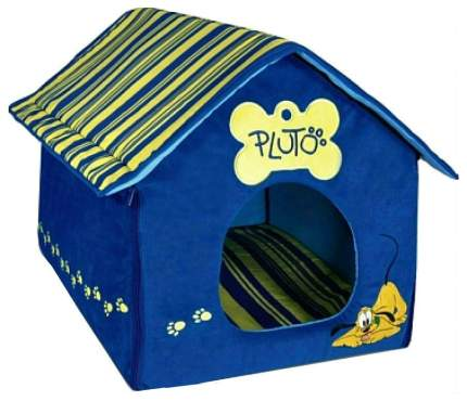 Домик для кошек и собак Triol Disney Pluto, синий, 50x40x40см