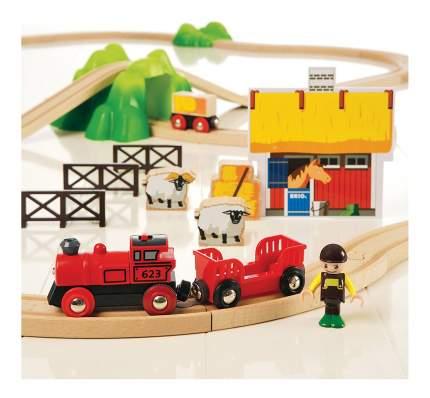 Железная дорога Подарочный Набор Ферма Brio 33043