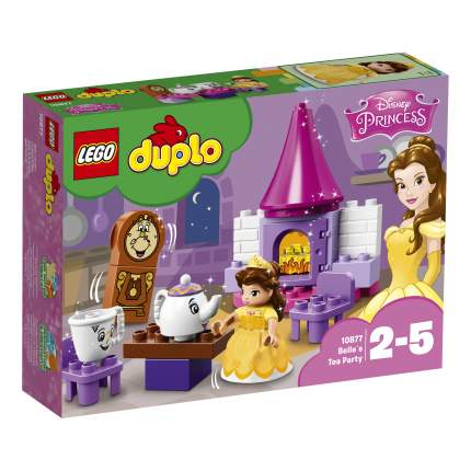 Конструктор LEGO Duplo Princess Чаепитие у Белль (10877)