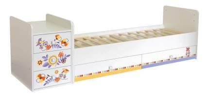 Кровать-трансформер Simple 1100 Прогулка белый Polini