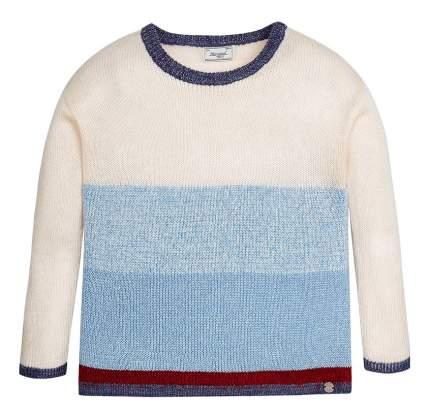 Джемпер Mayoral бело-голубой 140 размер