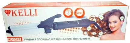 Электрощипцы Kelli KL-1219 White/Black