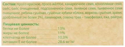Корм для средних попугаев Чика-био, 1 кг