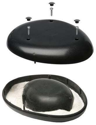 Одинарная миска для кошек и собак IMAC, пластик, черный, 0.3 л