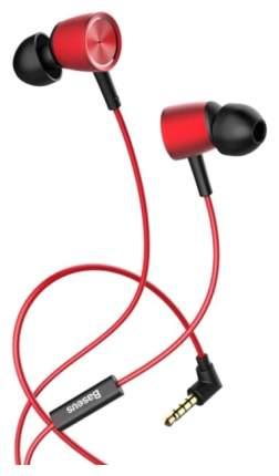 Наушники Baseus Encok Wire H07 Red/Black