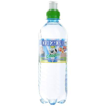 Вода Сенежская fitness негазированная 0.5 л 12 штук в упаковке