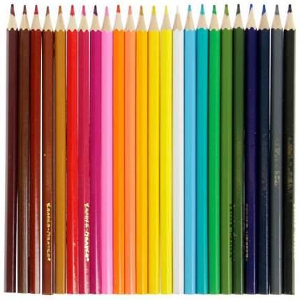 Набор цветных карандашей Каляка-Маляка 24 цв. шестигранные с заточкой 3+