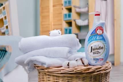 Концентрированный гель Jundo white для стирки белого белья 65 стирок 1 л