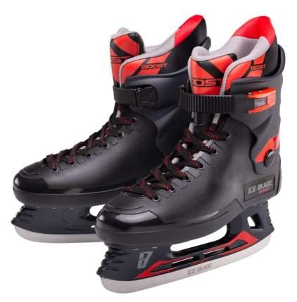Коньки хоккейные Ice Blade Boost красные/черные, 43