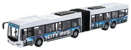 Фрикционная модель городского автобуса City Bus, белая, 1:43 Dickie Toys