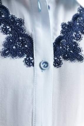 Блузка для девочки Finn Flare, цв. голубой, р-р. 152