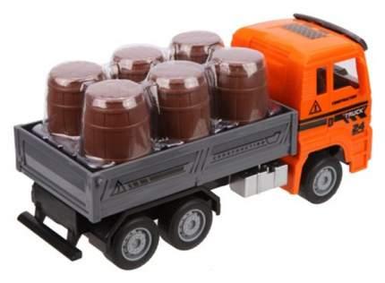 Машинка Наша игрушка с грузом в комплекте 6 шт.предметов
