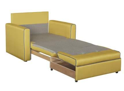 Кресло для гостиной Mobi Ника Найс 85 ТД 113, золотистый/желтый