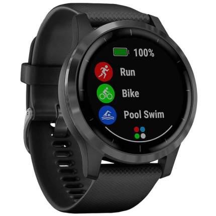 Спортивные наручные часы Garmin Vivoactive 4S Black/Slate
