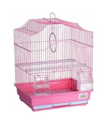 Клетка для птиц Kredo Цветная фигурная 30х23х39 см