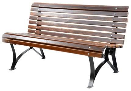 Садовая скамейка Дачный сезон Тенистая СКТ-1-7 коричневый