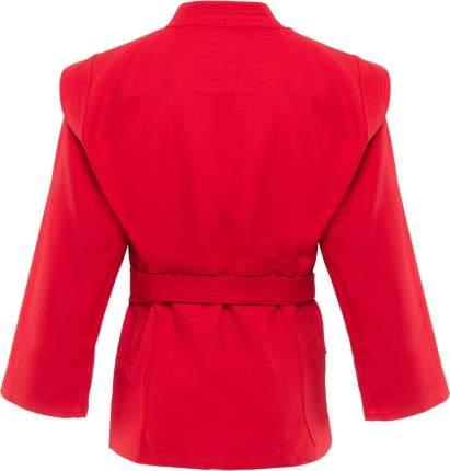 Куртка для самбо Green Hill JS-302, красная, р.1/140