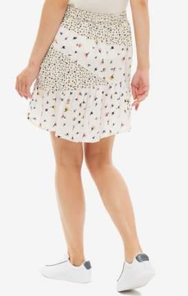 Юбка женская Vero Moda 10217863 birch белая/разноцветная S