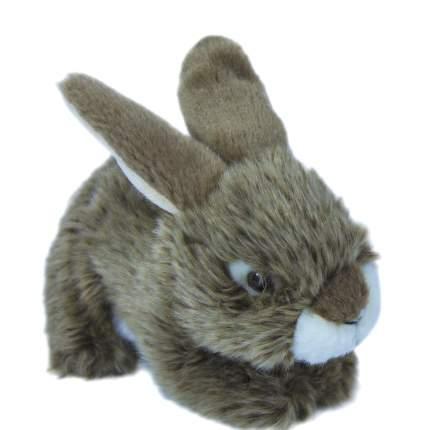 Мягкая игрушка Teddykompaniet заяц, серый, 19 см,7124