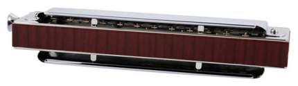 Губная гармоника хроматическая HOHNER CX 12 Black 7545/48 E