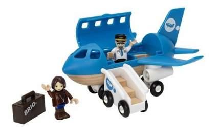 Деревянная железная дорога Самолет с трапом Brio 33306