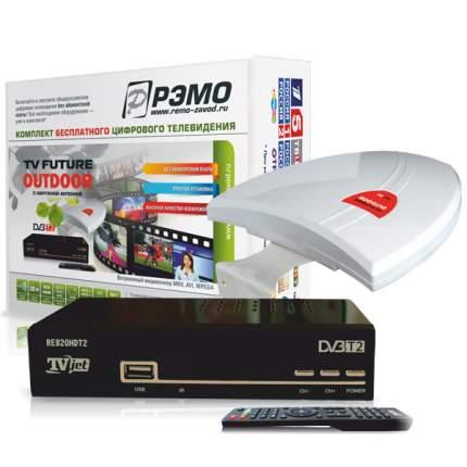 DVB-T2 приставка Рэмо TV Future Outdoor Black