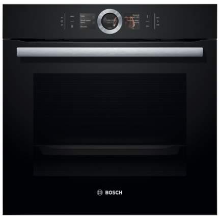 Встраиваемый электрический духовой шкаф Bosch HBG6764B1 Black