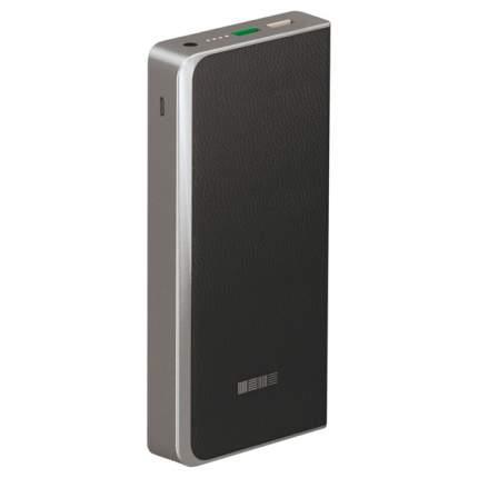 Внешний аккумулятор InterStep PB12000QC 12000 мА/ч (IS-AK-PB1200QCB-000B20) Black