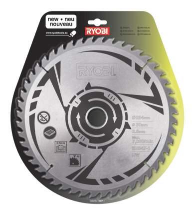 Пильный диск по дереву  Ryobi SB254T48A1 TCT BLDE 254MM 48T EMEA