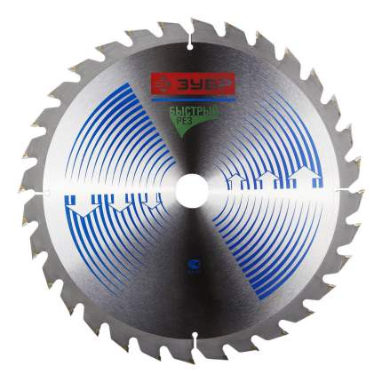 Пильный диск по дереву  Зубр 36901-250-30-24