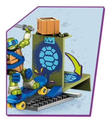 Конструктор пластиковый Mega Bloks® TMNT Лео на скейте DMX26 DPF59