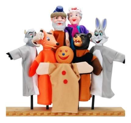 Игровой набор Жирафики Кукольный театр Колобок 7 кукол 68317