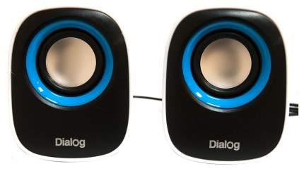 Колонки компьютерные Dialog Colibri AC-06UP Белый/Черный