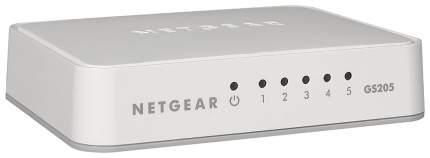 Коммутатор NetGear GS205-100PES Белый