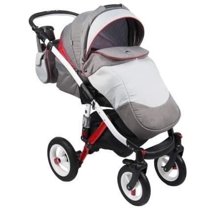 Прогулочная коляска Adamex Aspena Rainbow Rainbow red, grey