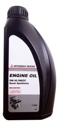 Моторное масло Mitsubishi Engine Oil Semi-Synthetic 5W-30 1л