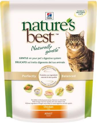 Сухой корм для кошек Hill's Nature's Best, натуральный, курица, 0,3кг