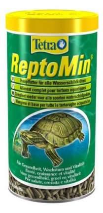 Корм для рептилий Tetra ReptoMin Sticks в виде палочек для водных черепах, 1000мл