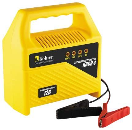 Зарядное устройство Kolner KBCН 4 желто-черный (кн4кбс)