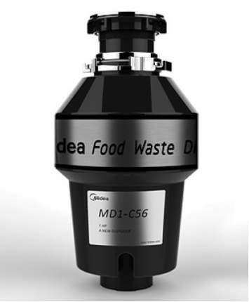 Измельчитель пищевых отходов Midea MD1-C75 черный