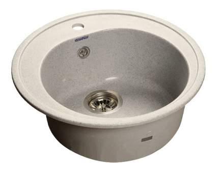 Мойка для кухни мраморная GranFest Rondo GF-R510 серый